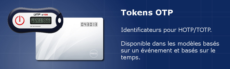 Porte-clé token OTP (One-Time Password)
